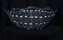 Load image into Gallery viewer, Handmade Seed Bead Bowl Style Basket