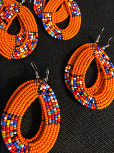 Earrings Tribal Style Handmade