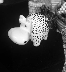 Poka Dot Soapstone Animals