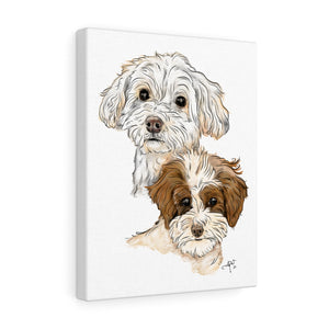Daisy & Lucy Canvas Gallery Wrap