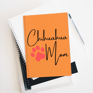 Chihuahua Mom Notebook - Ruled Line