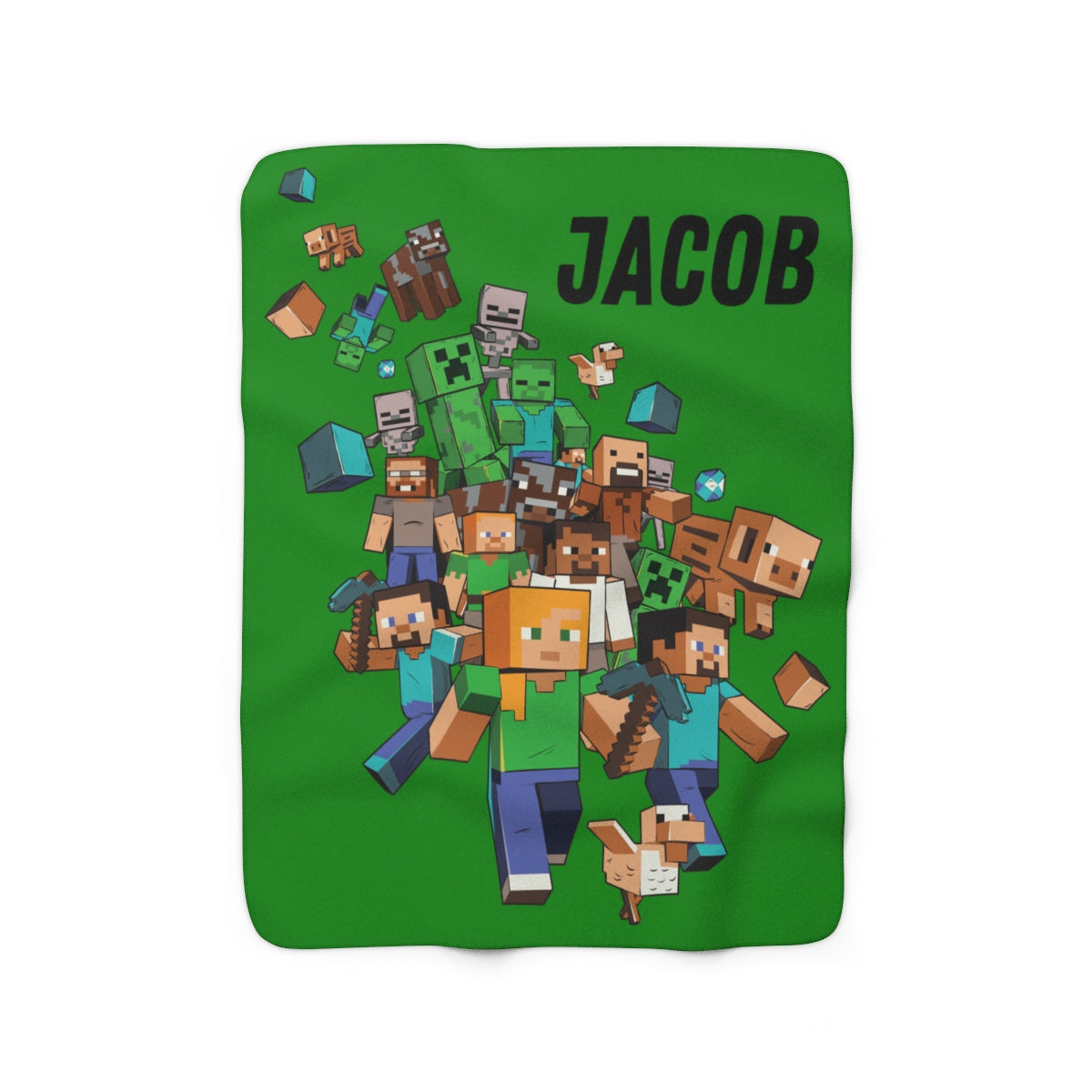 Minecraft Jake Blanket