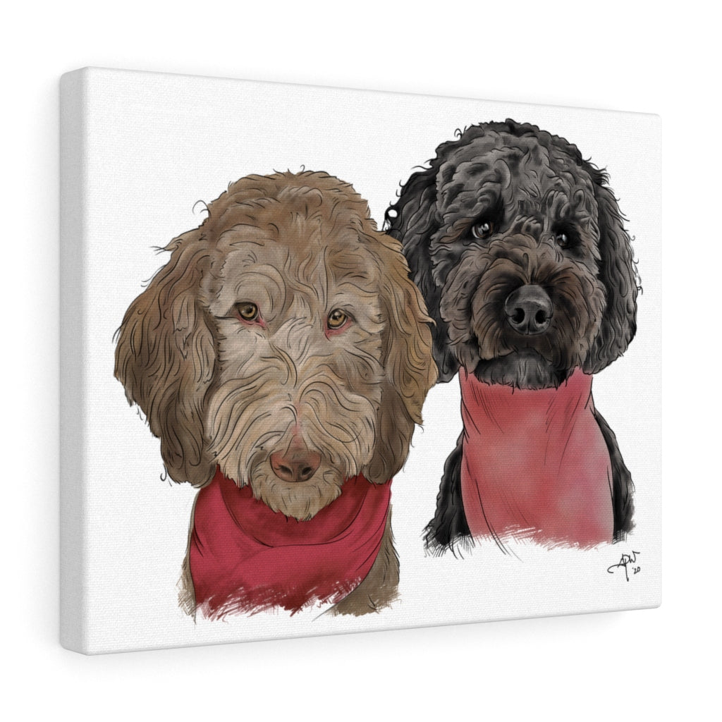 Sophie & Phoebe Canvas Gallery Wrap