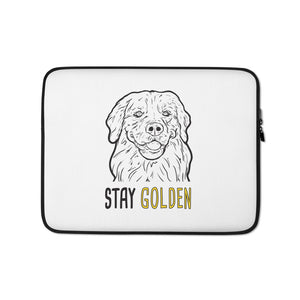Stay Golden Laptop Sleeve