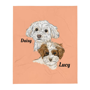 TP1035 Daisy & Lucy Throw Blanket (Big)