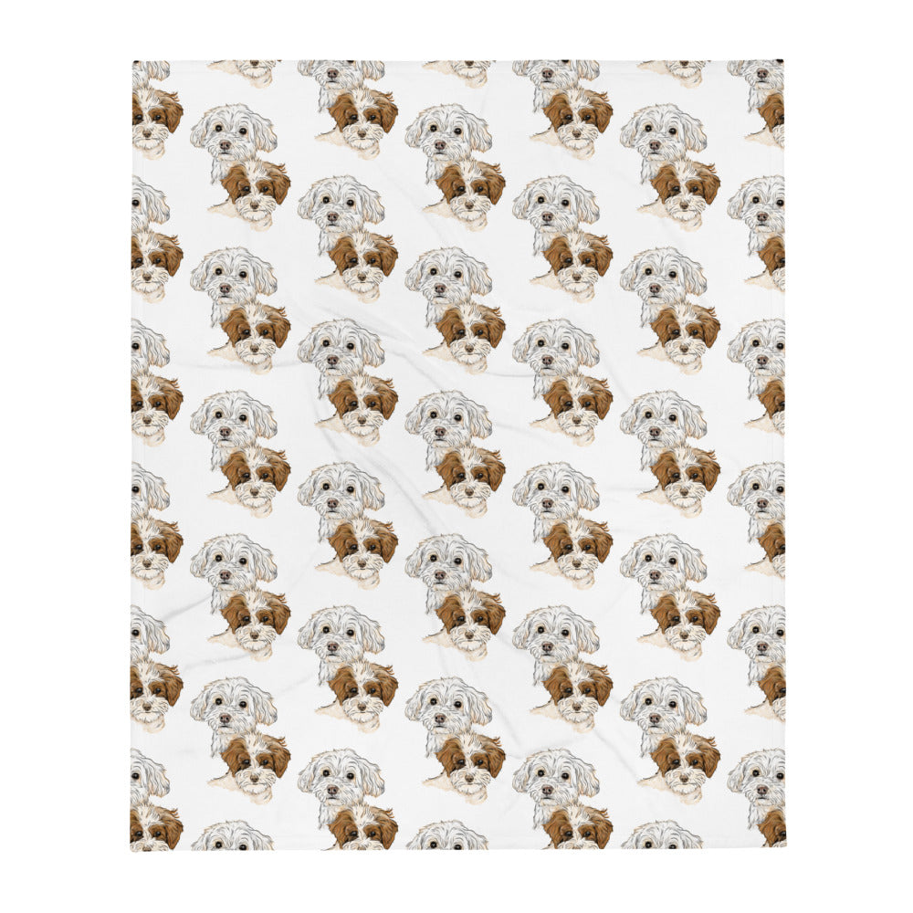TP1035 Daisy & Lucy Throw Blanket