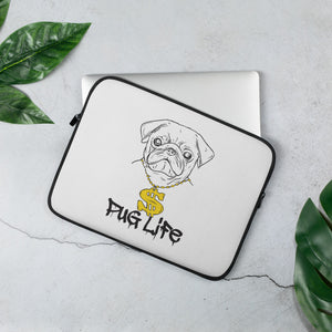Pug Life Laptop Sleeve