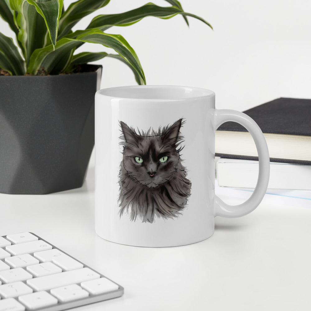 Blue Persian Cat Mug