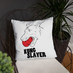 Doberman Kong Slayer Pillow