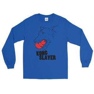 Doberman Kong Slayer Long Sleeve T-Shirt