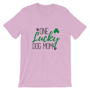 One Lucky Dog Mom T-Shirt