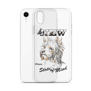 Yorkie iPhone Case (clear)