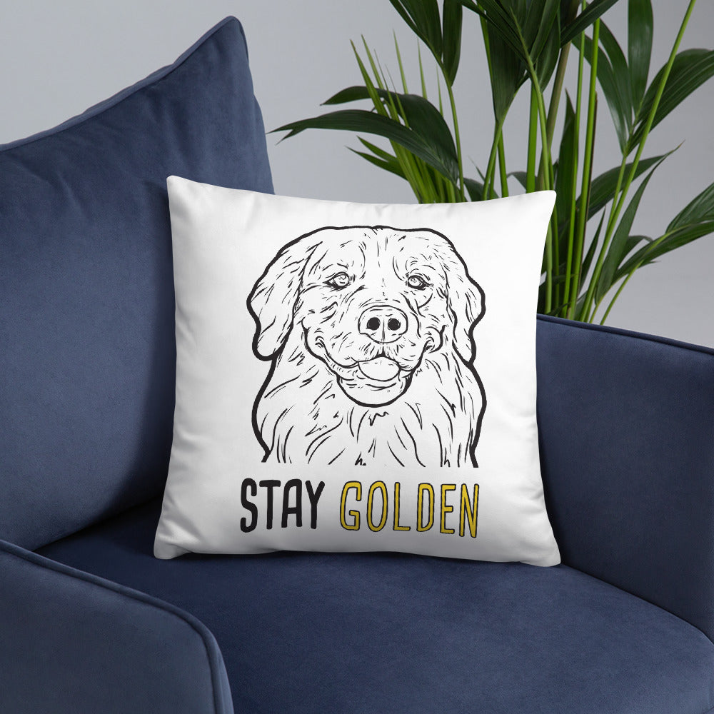 Stay Golden Pillow