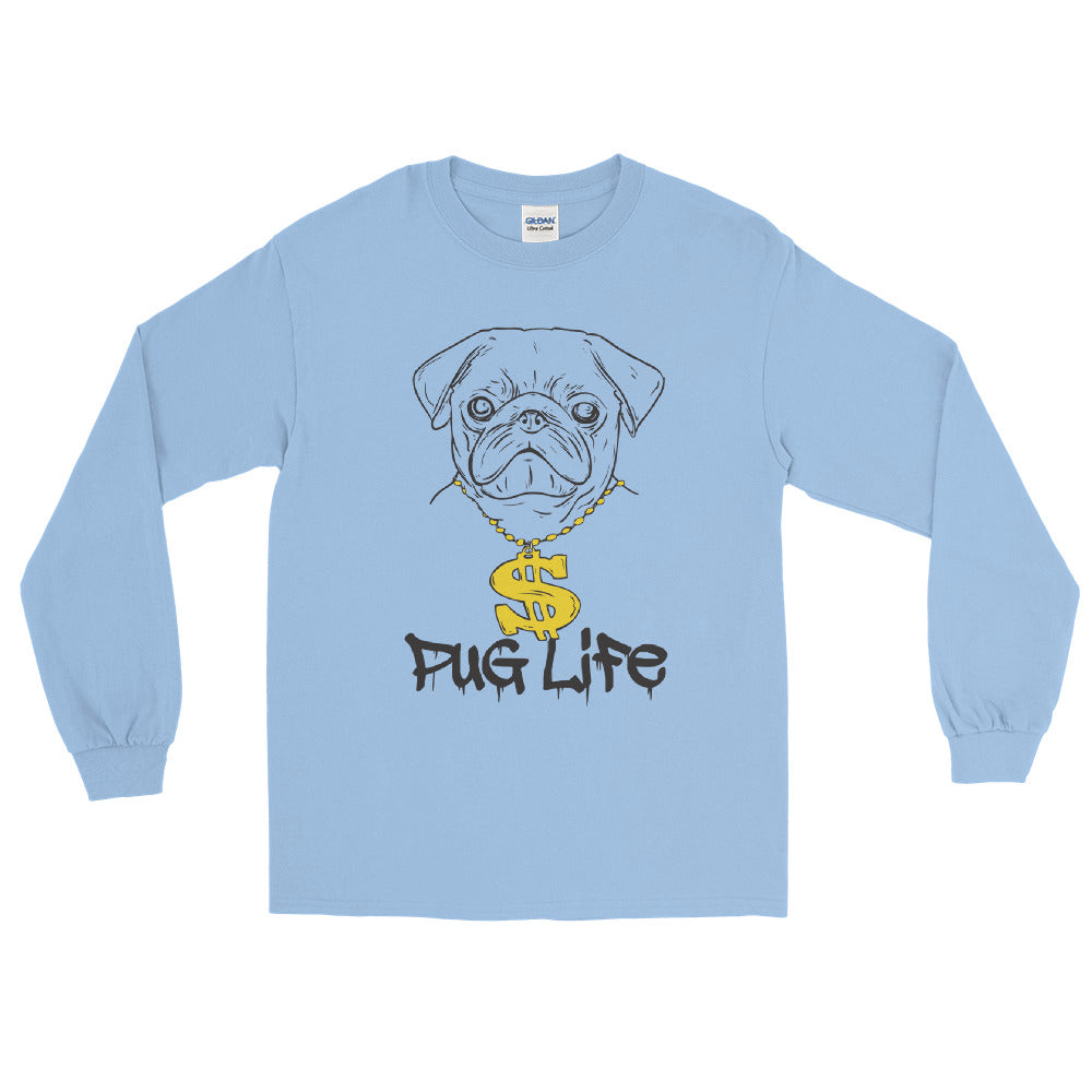 Pug Life Long Sleeve T-Shirt