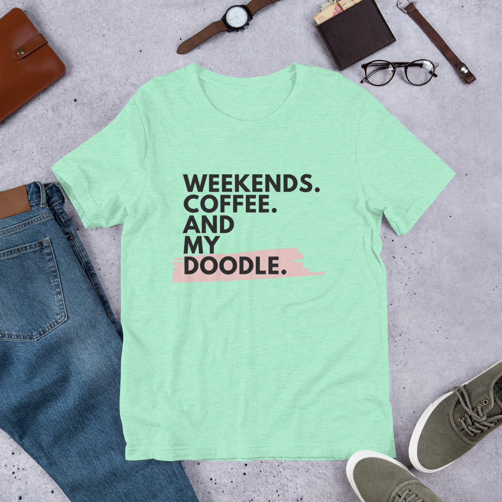 Weekends.Coffee.Doodle T-Shirt