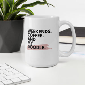 Weekends.Coffee.[BREED] Mug