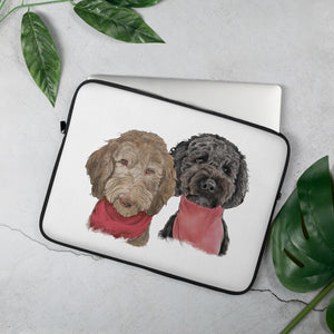 TP1030 Sophie & Phoebe Laptop Sleeve