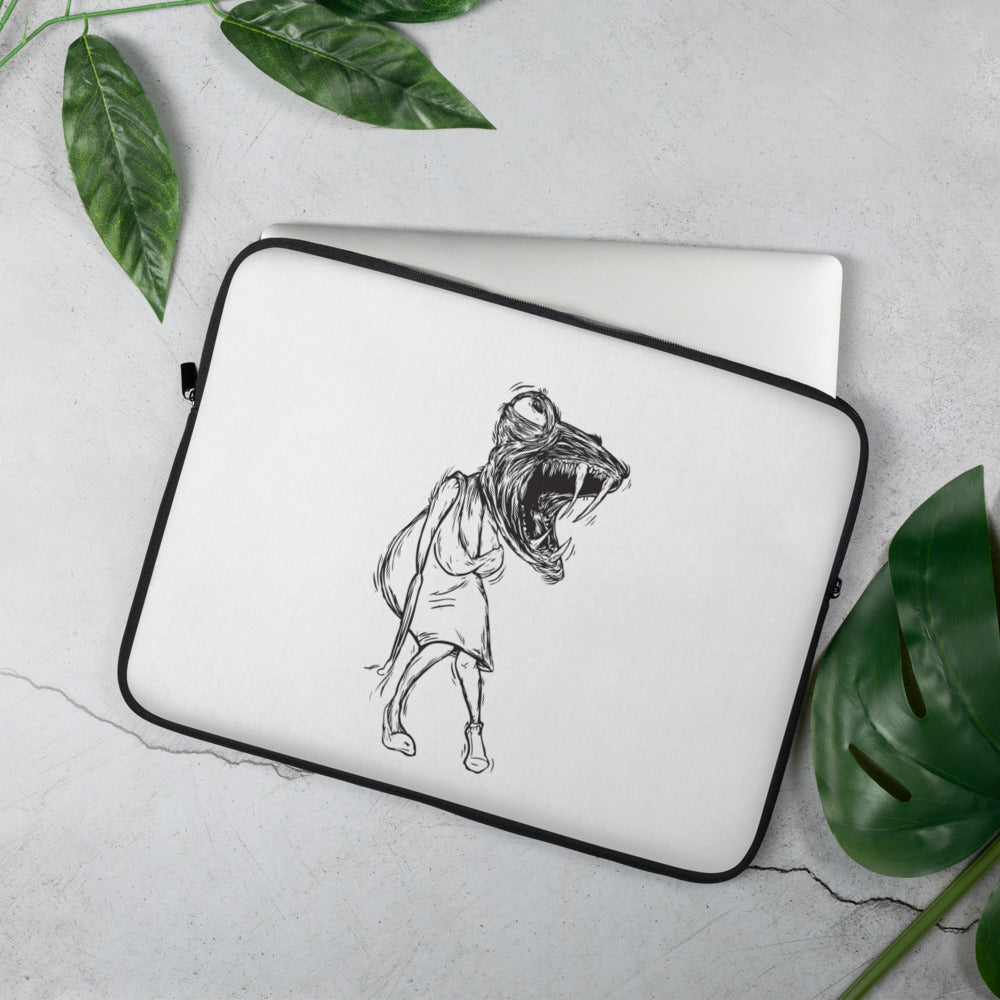 Lady Lizard Laptop Sleeve