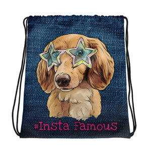 #Insta Famous Lucy Drawstring bag