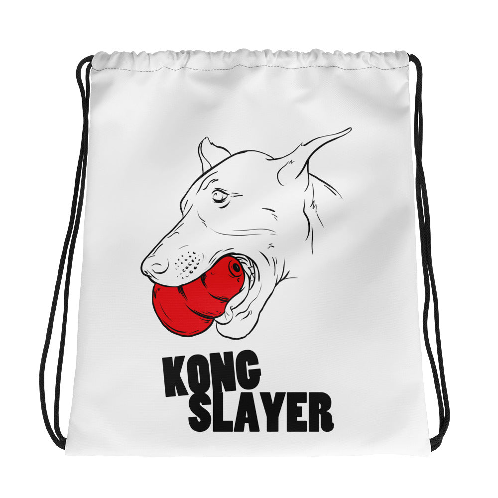 Kong Slayer Drawstring bag