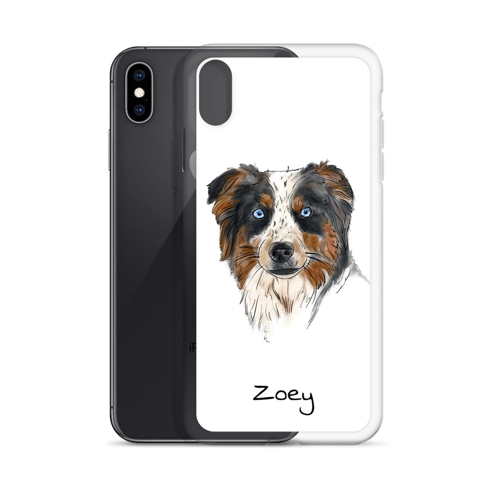 TP1005 Zoey iPhone Case (with Name)