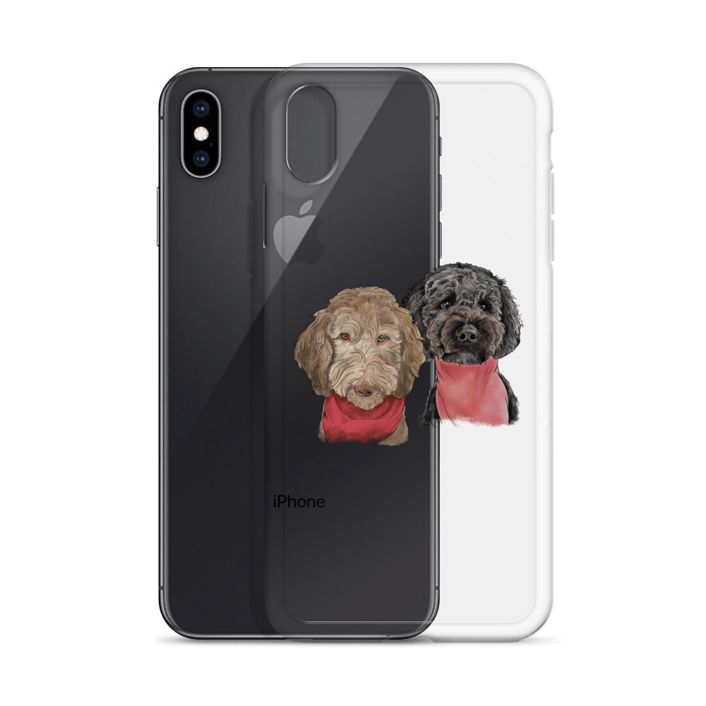 TP1030 Sophie & Phoebe iPhone Case
