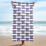 Beach Towel (add on)