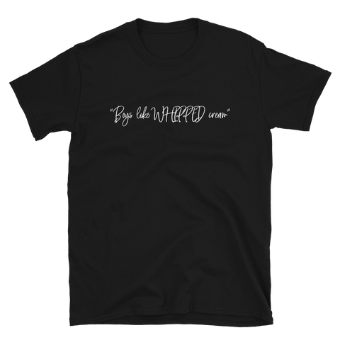 GFOTY - Boys Like Whipped Cream T-Shirt (Black)