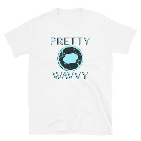 Pretty Wavvy - Logo T-Shirt (White)