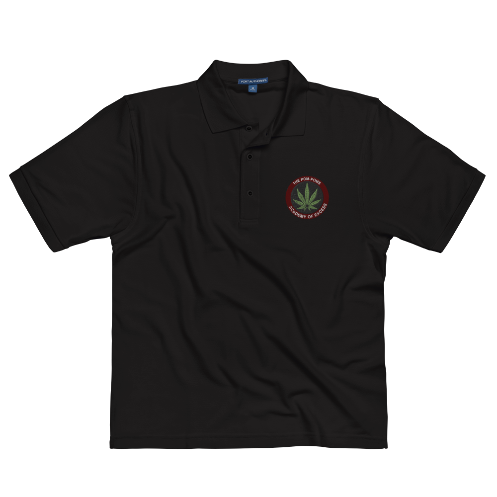 The Pom-Poms - Academy Polo (Black)