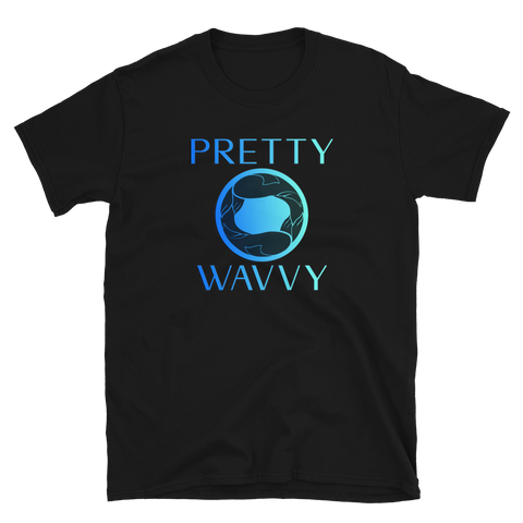 Pretty Wavvy - Logo T-Shirt (Black)