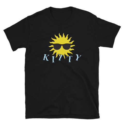 Kitty - Sunshine T-Shirt (Black)