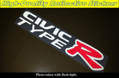 CIVIC TYPE R Honda JDM Car Decal Reflective Sticker