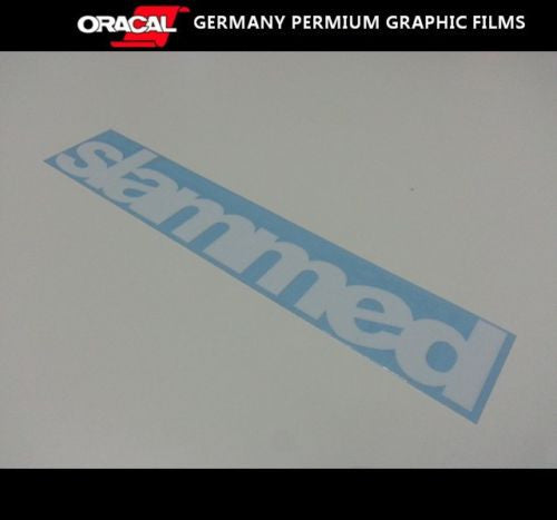 SLAMMED JDM Sticker Decal Drift Turbo Euro Fast Sticker
