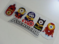 Avengers minions Style DC Superheros Car Laptop notebook Reflective Sticker