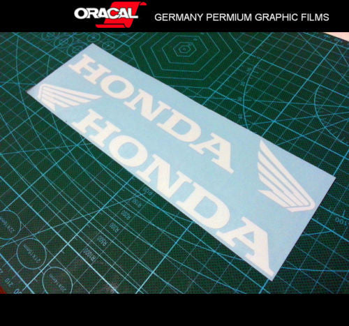 Pair of Honda Body / Fuel Tank Motorcycle Racing MotoGP Decal Sticker