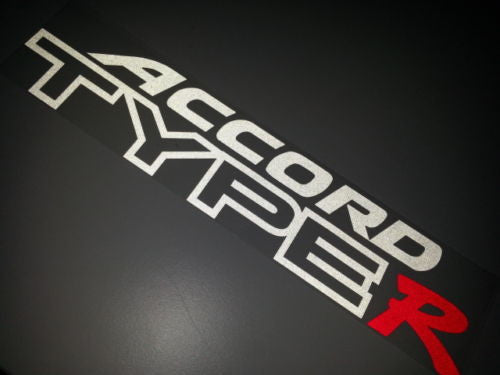 ACCORD TYPE R Honda JDM Car Decal Sticker