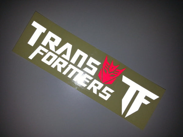 Transformers Chevrolet Truck HSV Car Decal Quality Reflective Sticker