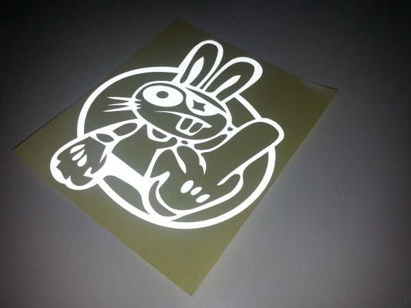 F*CK OFF RABBIT BUNNY JDM Drift Car Decal Sticker #02