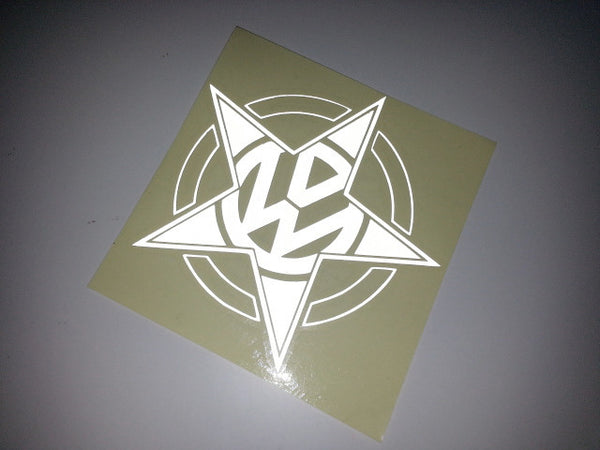 VW Star Car Decal sticker