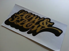 LOW & SLOW JDM Car Decal Multi-layered Sticker