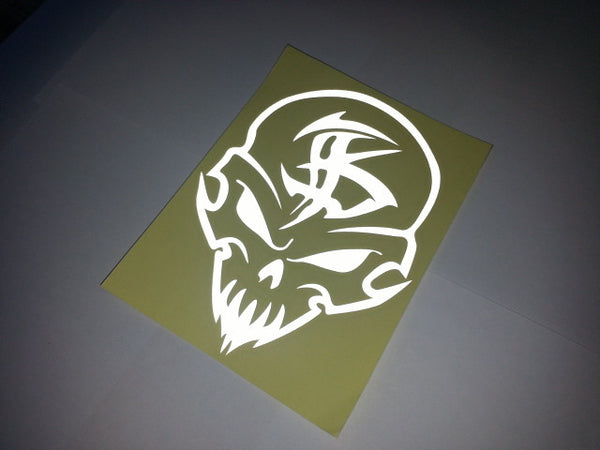 Monster Skull Totem Motorcycle Decal Sticker