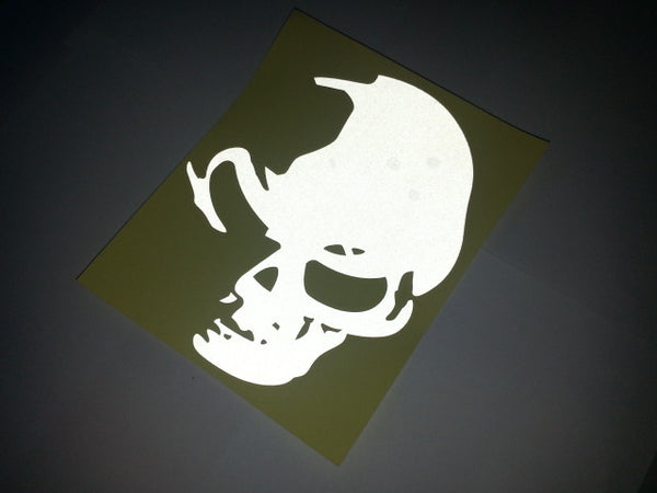 Monster evil devil Skull Motorcycle Decal Sticker