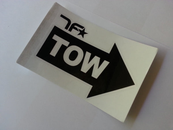 TOW Bar Bumper JDM Car Decal Sticker