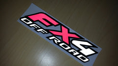 Ford F-150 FX4 OFF ROAD Car Decal Multi-Layered Reflective Sticker