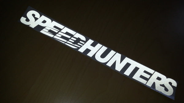 SPEED HUNTERS JDM Car decal Sticker