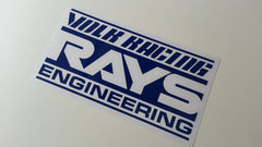 VOLK RACING RAYS ENGINEERING Wheels Drift Car Decal Sticker