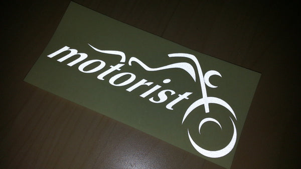 motorist Motorcycle Decal Sticker for Harley Davidson
