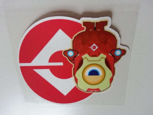 iron man minion Version G JDM Reflective Decal Sticker