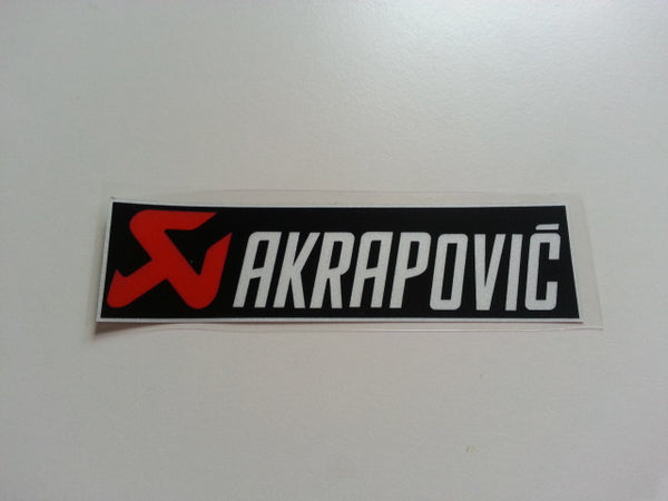 AKRAPOVIC Motorcycle Reflective Decal Sticker